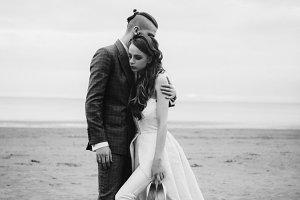 Wedding near the sea