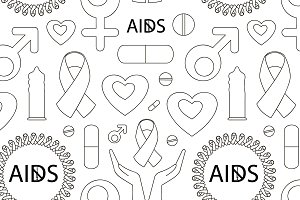 Aids day set pattern