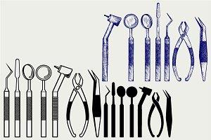 Tools dental SVG