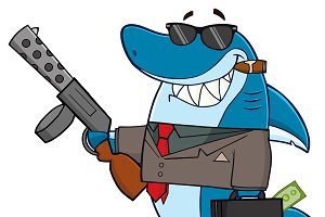 Smiling Shark Gangster