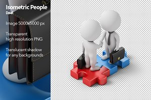 Isometric People - Deal