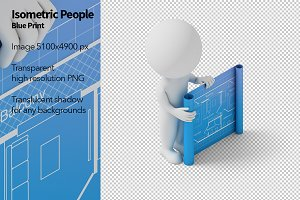 Isometric People - Blueprint