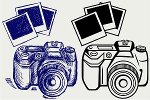 Digital photo camera SVG