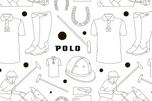 Polo objects, Sport uniform pattern