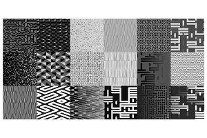 18 Grayscale Patterns