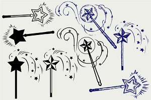 Magic wand SVG