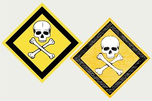 Warning sign SVG