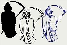 Death with a scythe