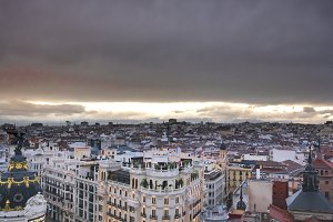 City of Madrid in Spain