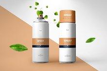 Spray Can Mock-up