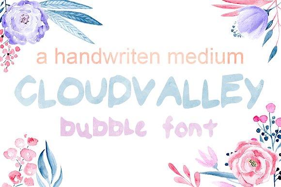 Cloud Valley Font Handwritten