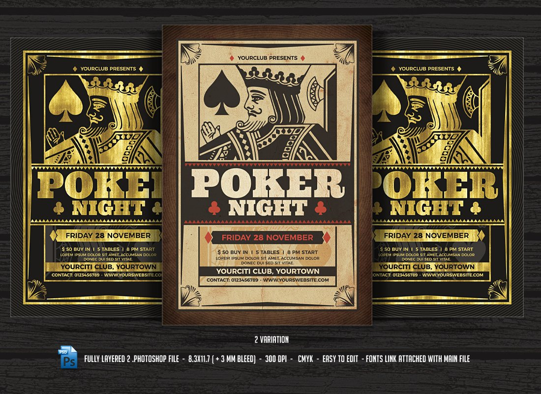 Poker Psd Photos Graphics Fonts Themes Templates Creative Market
