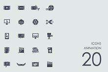 Animation icons