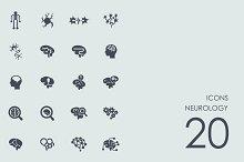 Neurology icons