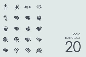Neurology icons
