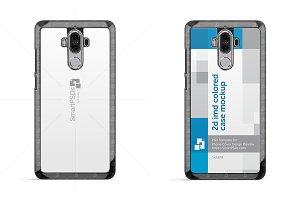 Huawei Mate 9 2d Phone Case Mockup