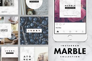 Instagram Marble Pack