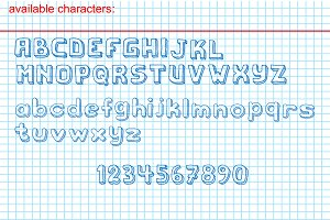 school font