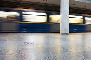 urban underground railway