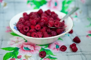 summer red raspberry