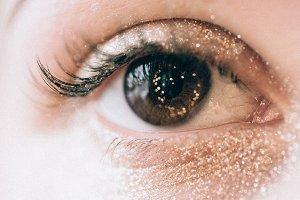 Eye brow make-up