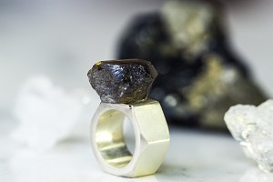 beautiful mineral for jewelry