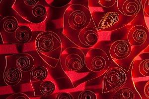 Nice red hearts