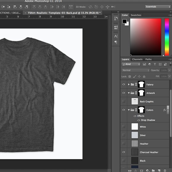 Realistic T Shirt Front Back Product Mockups Creative Market