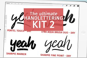 Handlettering Kit for everyday NO 2