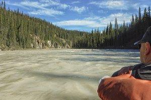 Wild water rafting