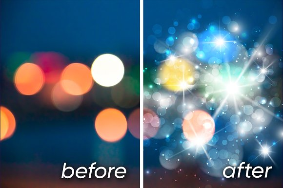 Lens flare, rays, star and sparkles in Objects - product preview 1