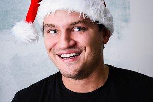 Happy Christmas man