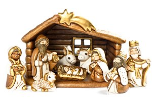Christmas crib Festive decoration