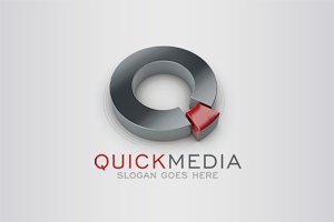 3D Multimedia Logo