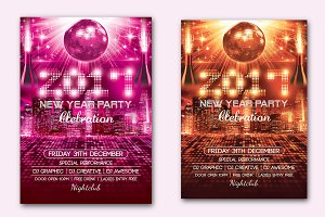 New Year Party Flyer