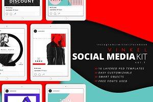 Vinkel Social Media Kit