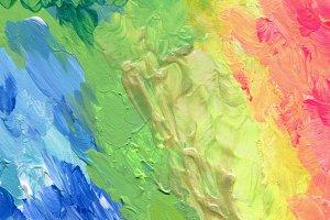 acrylic brush strokes paint