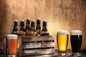 Crafting beer in bottles