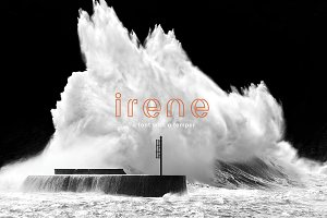irene - a font with a temper