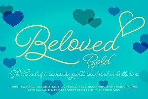 Beloved Script Bold