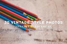 30 Vintage Style Photos v.3
