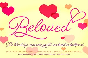 Beloved Script Regular