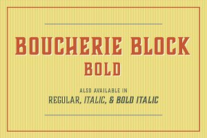 Boucherie Block Bold
