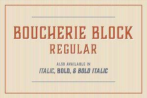 Boucherie Block Regular