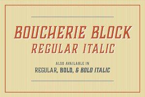 Boucherie Block Italic