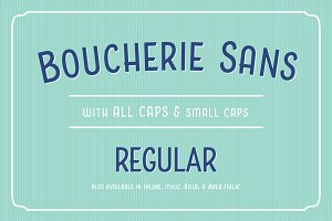 Boucherie Sans Regular