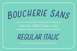 Boucherie Sans Italic
