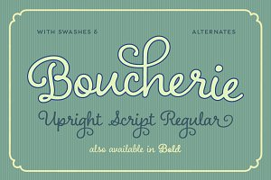 Boucherie Cursive Regular