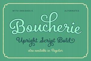 Boucherie Cursive Bold