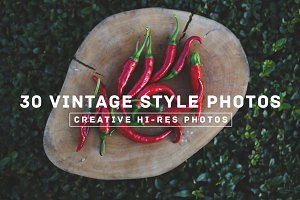 30 Vintage Style Photos v.4